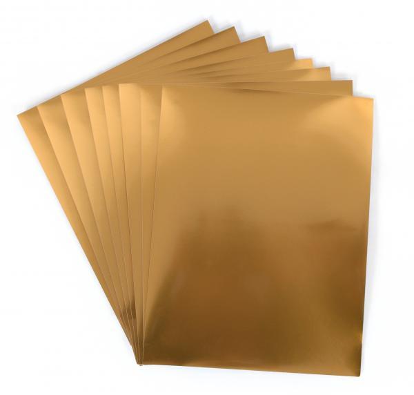 Silhouette America Sticker Paper Gold Foil Media Gld