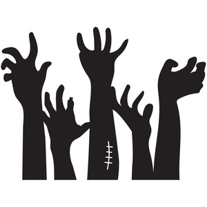 silhouette design store   view design 226800 zombie hands