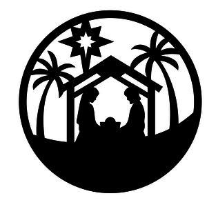 Silhouette Design Store View Design 104110 Nativity