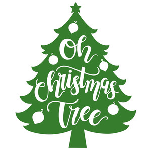 Oh Christmas Tree.Silhouette Design Store View Design 230240 Oh Christmas Tree