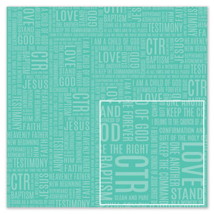 silhouette design store view design 258950 baptism day words paper