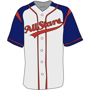 Silhouette Design Store View 10660 Baseball Jersey Template Clipart Free