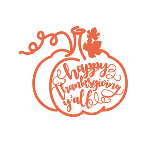 Happy Thanksgiving Yall >> Silhouette Design Store View Design 225570 Happy Thanksgiving Y All