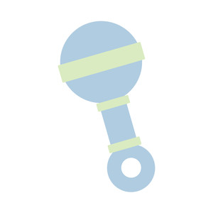 silhouette design store view design 268001 baby rattle