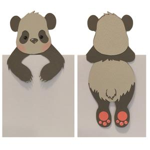 Silhouette Design Store View Design 103411 Panda Bookmark