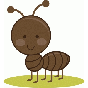 Silhouette Design Store - View Design #39521: Cute Ant