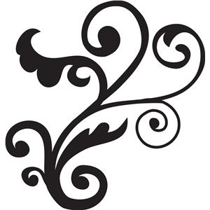 Silhouette Design Store - View Design #14331: flourish