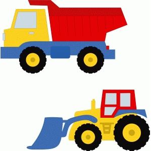 Silhouette Design Store View Design 56231 Tractor