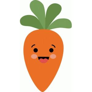 Silhouette Design Store View Design 81731 Cute Carrot