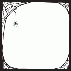 Silhouette Design Store View Design 99231 Spider Web Frame