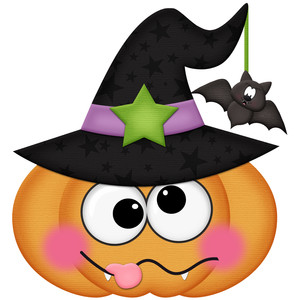 Silhouette Design Store View Design 277241 Halloween Pumpkin With Witch Hat
