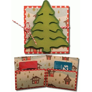Silhouette Design Store View Design 72141 Tree 2 Gift Card Holder