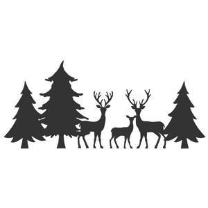 Silhouette Design Store View Design 108451 3 Trees 3