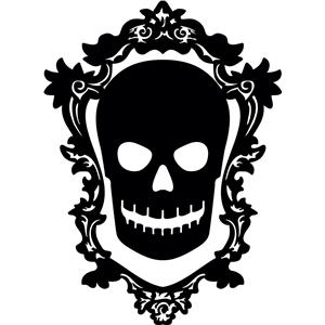 Silhouette Design Store View Design 33071 Skull Cameo
