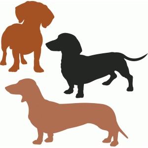 Silhouette Design Store View Design 88371 dachshund