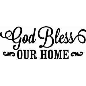 silhouette design store view design 49381 god bless