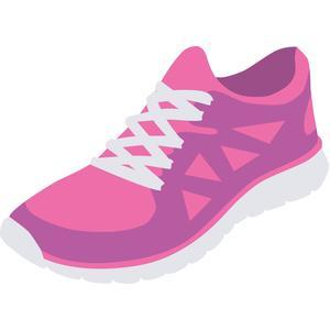 Silhouette Design Store View Design 112102 running shoe