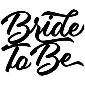 silhouette design store view design 261602 bride to be