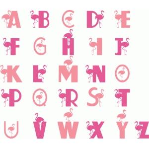 Silhouette Design Store View Design 61722 Flamingo