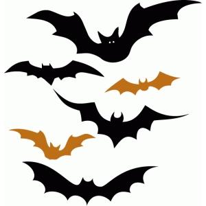 Silhouette Design Store View Design 65962 6 Halloween Bats