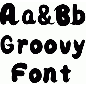 Silhouette Design Store - View Design #80562: groovy font