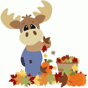 Silhouette Design Store - View Design #88962: fall moose w ...