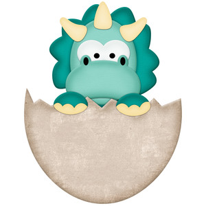 Silhouette Design Store View Design 122372 Triceratops