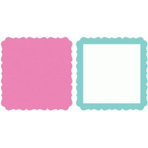 Silhouette Design Store - View Design #93872: fancy square ...Fancy Square Frame