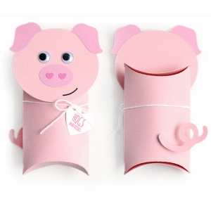 Silhouette Design Store View Design 74582 Pig Pillow