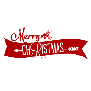 silhouette design store view design 235813 merry christmas banner
