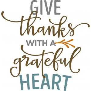 Silhouette Design Store View Design 101623 Give Thanks