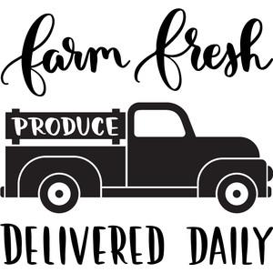 ef8e5f1793c Silhouette Design Store - View Design  248833  farm fresh produce