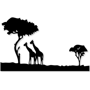 Silhouette Design Store View Design 18473 Safari
