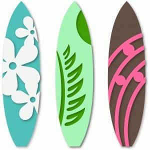 Silhouette Design Store View Design 45873 3 Surf Boards