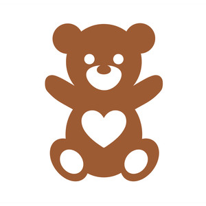 Silhouette Design Store View Design 122093 Teddy Bear