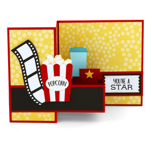 pop up box card popcorn