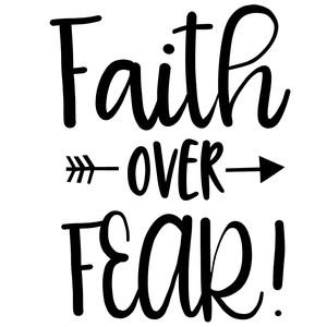 Silhouette Design Store - View Design #225204: faith over ...
