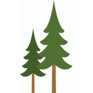 Silhouette Design Store View Design 98404 pine trees