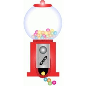image regarding Printable Gumball Machine identify Silhouette Layout Shop - Check out Style #74524: gumball