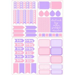 Silhouette Design Store View Design 95624 Pink