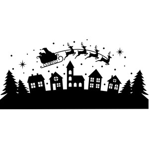 Silhouette Design Store View Design 234934 Santa