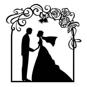 Silhouette Design Store View Design 197044 Wedding