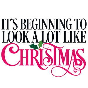 Its Beginning To Look Alot Like Christmas.Silhouette Design Store It S Beginning To Look A Lot Like Christmas