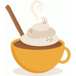 Silhouette Design Store - View Design #93044: fall hot cocoa