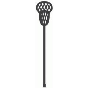 Silhouette Design Store View Design 39154 Lacrosse Stick