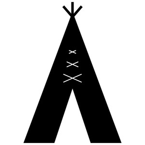 Silhouette Design Store View Design 118064 Teepee