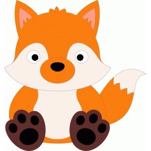 Silhouette Design Store View Design 53664 Cute Fox