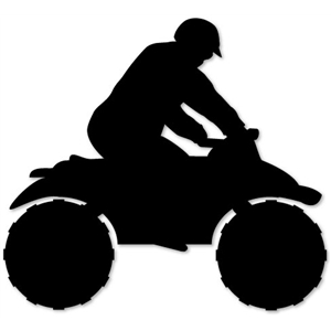 Silhouette Design Store View Design 2684 four wheeler