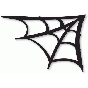 Corner spider web design - photo#10