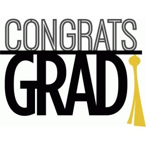 silhouette design store view design 60294 congrats grad phrase